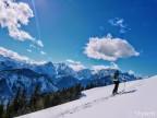 Fantje in dekleta, najboljše smučanje v slovenskih gorah še prihaja